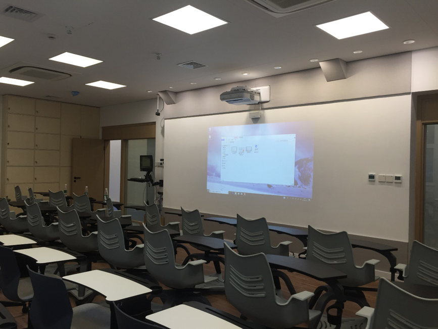 上海某高校空气环境监测示范教室